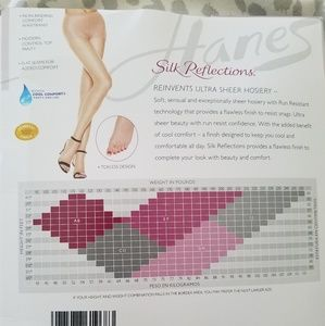 Hanes Accessories - Hanes Control Top Pantyhose